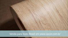 Carvalho Francês - Adesivo com relevo Madeira.