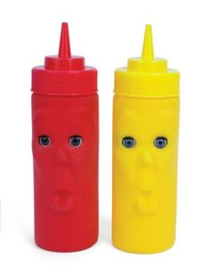 Blink 2 Piece Ketchup & Mustard Bottle Set