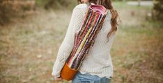 I saw this yoga bag  on Free People and haven't been able to get my mind off of it ever since, so I knew I needed to make an inspired o...