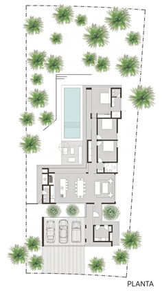 Contemporary House Plans, Modern House Plans, Small House Plans, New Home Designs, Home Design Plans, Plan Design, Luxury House Plans, Best House Plans, Modern Architecture House