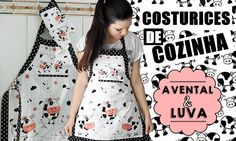 COSTURICES DE COZINHA| Avental & luva ♥