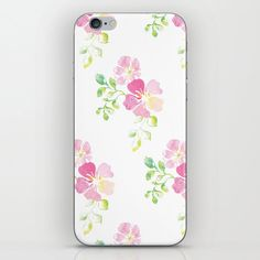 aquarel flowers iPhone Skin by anines-atelier Iphone Skins, All You Need Is, Vinyl Decals, Super Easy, Sticks, Bubbles, Phone Cases, Change, Model