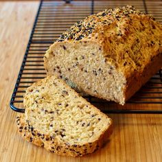 Sesame Seed Beer Bread Beer Breads are some of my favorite loaves of bread to bake.  They're easy, require few ingredients and taste delicious.  For years I have made the same Whole Wheat Beer Brea...