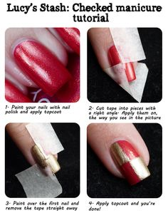Lucy's Stash: Money Smart Nail Art - you don't need expensive tools to produce great nail art!