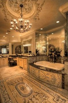 Lovely The most beautiful bathroom I have ever seen. I will remodel today!!!!!