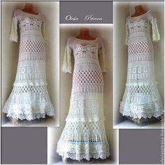 Купить Платье Сати длинное - белый, свадебное платье, молочный цвет, Платье нарядное
