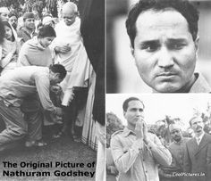 he Infamous Assassination of Mahatma Gandhi - This photo was taken just before he was shot by the man, Nathuram Godse, touching his feet. Rare Images, Rare Pictures, Rare Photos, Vintage Photographs, History Of India, World History, Asian History, British History, Mahatma Gandhi