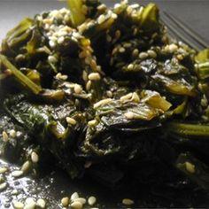 Asian-Inspired Mustard Greens - Allrecipes.com