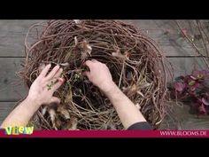 DIY - Kugel aus Reb- oder Weidenzweigen selbermachen/flechten - YouTube
