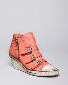 56881209b04 Ash Canvas Wedge Sneakers -just bought These!