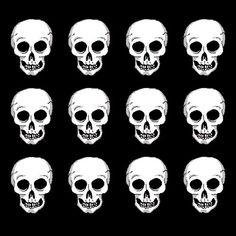 skulls black Cool