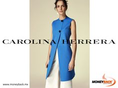 MONEYBACK MEXICO. CAROLINA HERRERA clothing has no parallel. Her sophisticated design always meets elegance, perfection and a splendid sense for fashion. Carolina Herrera has stores in Cancun, Cabo San Lucas and Plaza Antara in Mexico City, visit them and save your purchase receipt to get a tax refund on our Moneyback module! #moneyback www.moneyback.mx