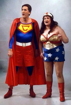 Cooperman & Blunderwoman - Russ Abbot &  Bella Emberg on Russ Abbot's Madhouse