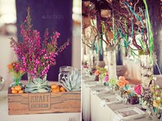 Love these tablescapes!