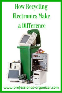 How Recycling Electronics Make a Difference