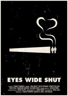Affiches des films de Stanley Kubrick en pictogrammes - La boite verte