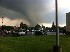 EF3 Tornado Springfield, Massachusetts June 2011