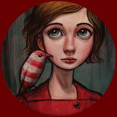 Peppermint Bird by Kelly Vivanco