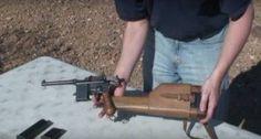 Firing Three Versions of the Old Mauser C96 Broom Handle Pistol [VIDEO]