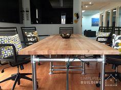 Bon Butcher Block Conference Table