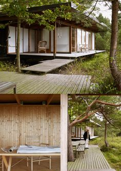Architects' Holiday Houses. | Yellowtrace — Interior Design, Architecture, Art, Photography, Lifestyle & Design Culture Blog. 母屋と縁側とテラスのつながり、配置。