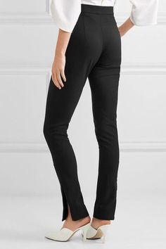 Georgia Alice - Stretch-wool Skinny Pants - Black - UK12