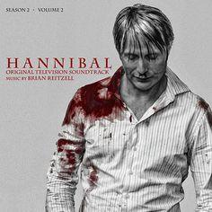 Cover art for Hannibal Season Two: Original Television Soundtrack Volume 2.  Hit HorrorTalk.com for more horror news!