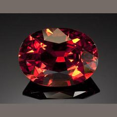 Rare Spessartite Garnet Burma From a rare locality for the mineral, the… Rare Gemstones, Minerals And Gemstones, Crystals Minerals, Rocks And Minerals, Stones And Crystals, Gem Stones, Garnet Stone, Rocks And Gems, Dragon