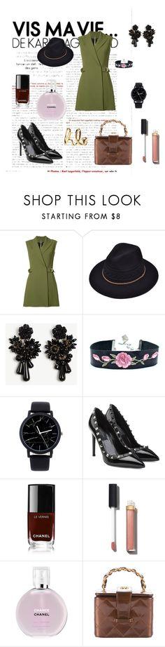 """so fancy"" by cristhyne-torres on Polyvore featuring moda, Balmain, Ann Taylor, Valentino, Chanel e Chloé"