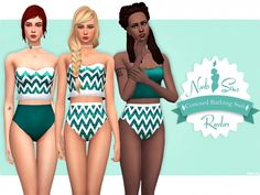 Concord Bathing Suit Recolors at Nords Sims image 10121 670x503 Sims 4 Updates