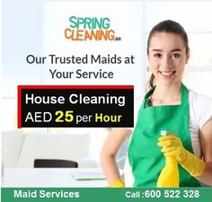 ✅ Expert Home Cleaning - Promo 25 AED per hours ✅ Professional & well trained cleaners in Dubai, Abu Dhabi ✅ Online Booking SpringCleaning.ae ✔ Call Now 056 533 6622 #SpringCleaning #CleaningServicesDubai #MaidServicesDubai #CleaningCompany #Housekeeping #homecleaning #BabySitting #HomaMaids #ResidentialCleaning #CommercialCleaning #parttimemaids #DeepCleaningServices #FilipinaCleaners #Fulltimemaids #United #Arab #Emirates #VillaCleaning #OfficeCleaning #SofaCleaning #CarpetCleaning #UAE Deep Cleaning Services, Commercial Cleaning Services, Cleaning Companies, Apartment Cleaning, Office Cleaning, Apartment Office, House Maid, Cleaning Maid, Professional House Cleaning