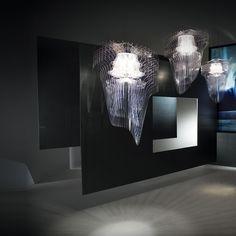 Slamp Aria Pendant light transparent