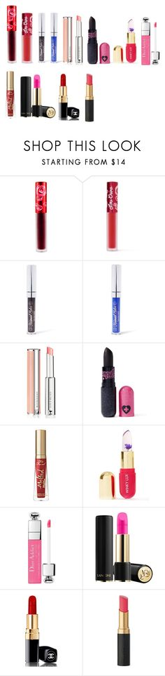 """Lips"" by themusicgeek32 on Polyvore featuring beauty, Lime Crime, Mermaid Salon, Givenchy, Sugarpill and Winky Lux"