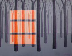 Original Paintings Surreal Fantasy Abstract Home by annarobertsart