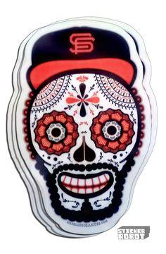 custom-sticker-san-francisco-giants by john hersey