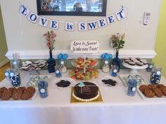 love is sweet treat table