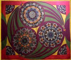 Modern Art Quilts | Pin it 2 Like 1 Website