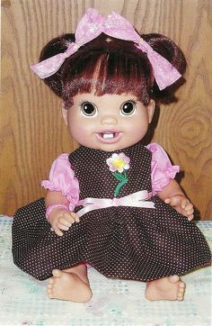 "Dolls name is ""Harmy Dawn"" after my daughter, Lesia Dawn"