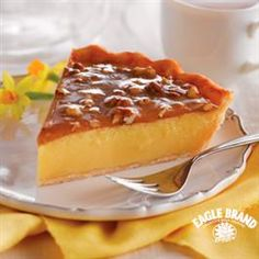 Praline Custard Pie from Eagle Brand®