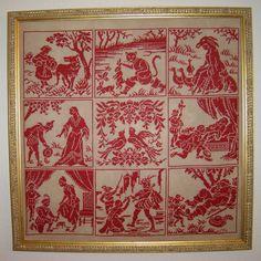 French Sampler Cross Stitch Chartsampler Fairy Tales of Perrault Sajou Style Cross Stitch Samplers, Cross Stitch Embroidery, Cross Stitch Patterns, Slumped Glass, Composition, Filet Crochet, Blackwork, Needlework, Fairy Tales