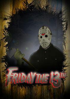 Friday The 13th 3, Jason Friday, Horror Movie Posters, Horror Movies, Kane Hodder, Dario Argento, All Blacks, Jason Voorhees, Freddy Krueger