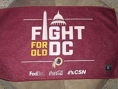 2a5de3cf600 2016  Fight For Old DC  Washington Redskins Rally Towel MNF 9 12 Game