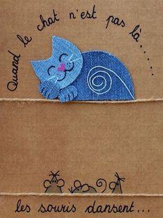 """L'expression """"Quand le chat n'est pas là, les souris dansent"""" (when the cat's away, the mice will play) signifie qu'on agit très librement lorsqu'il n'y a plus de surveillance ; on en profite. Source : https://www.pinterest.com/fleurysylvie"""
