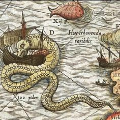 medieval sea monsters - Google Search