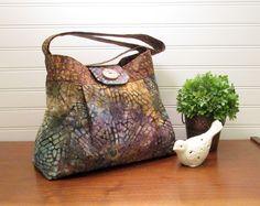 Cloth Pocketbook - Handmade Handbag - Boho Bag - Cross Body Bag - Batik Fabric Purse -Fearless Creations - Most Sold Items - Purses and Bags by FearlessCreationsbyJ on Etsy