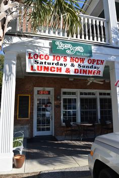 Many of the cast and crew hung out at Loco Jo's Bar & Grill after filming. Southport, NC