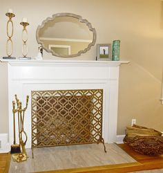 this FP is now the wow of this room with a great mirror and screen