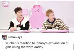 So, it's okay for EXO CBX to call me Mama, but EXO-L couldn't call EXO Daddy?!?!