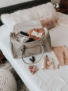 My Hospital Bag Essentials Hospital Bag Essentials, Newborn Essentials, Hospital Bag For Mom To Be, Baby Must Haves, Baby Supplies, Baby Diaper Bags, Traveling With Baby, Baby Needs, Baby Time