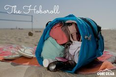 With summer coming to an end, it's time to get out there for one final beach day. This is where the HOBOROLL comes in. It will keep you organized and prepared for a beautiful day at the beach. Enjoy!